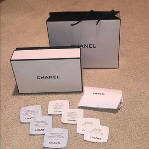 Authentic Chanel gift bag/box